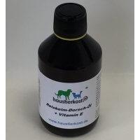 haustierkost.de Reiskeim-Dorsch-Öl + Vitamin E, 250ml