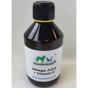 haustierkost.de Omega 3-6-9 + Vitamin E, 250ml