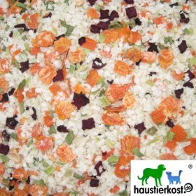haustierkost.de Reisflocke mit 20% Gemüseanteil, 1kg